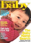 American Baby Magazine cover