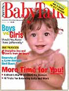 Baby Talk Magazine cover