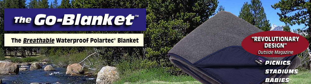 Go-Blanket Waterproof Blankets